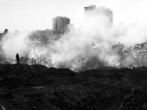 Contra reflejos de una ciudad
